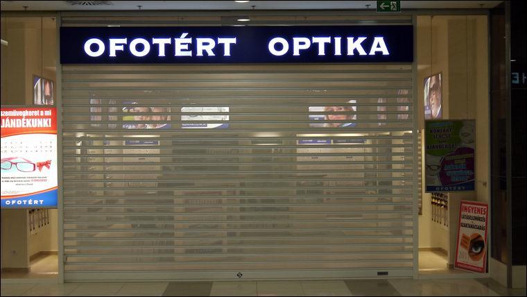 Perforált sávredőny Ofotért optika